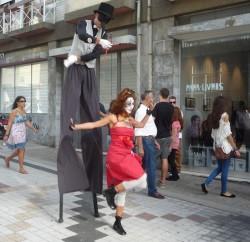 Espectáculos en el barrio Miguel Bombarda